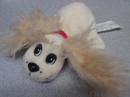 Mattel Pound Puppies 2004 cream plush cocker spaniel puppy dog - $12.82