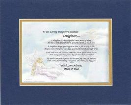 Personalized Touching and Heartfelt Poem for Daughters - To Our Loving Daughter  - $22.72