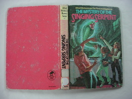 Three Investigators Mystery of the Singing Serpent no.17 Hitchcock GLB e... - $10.00