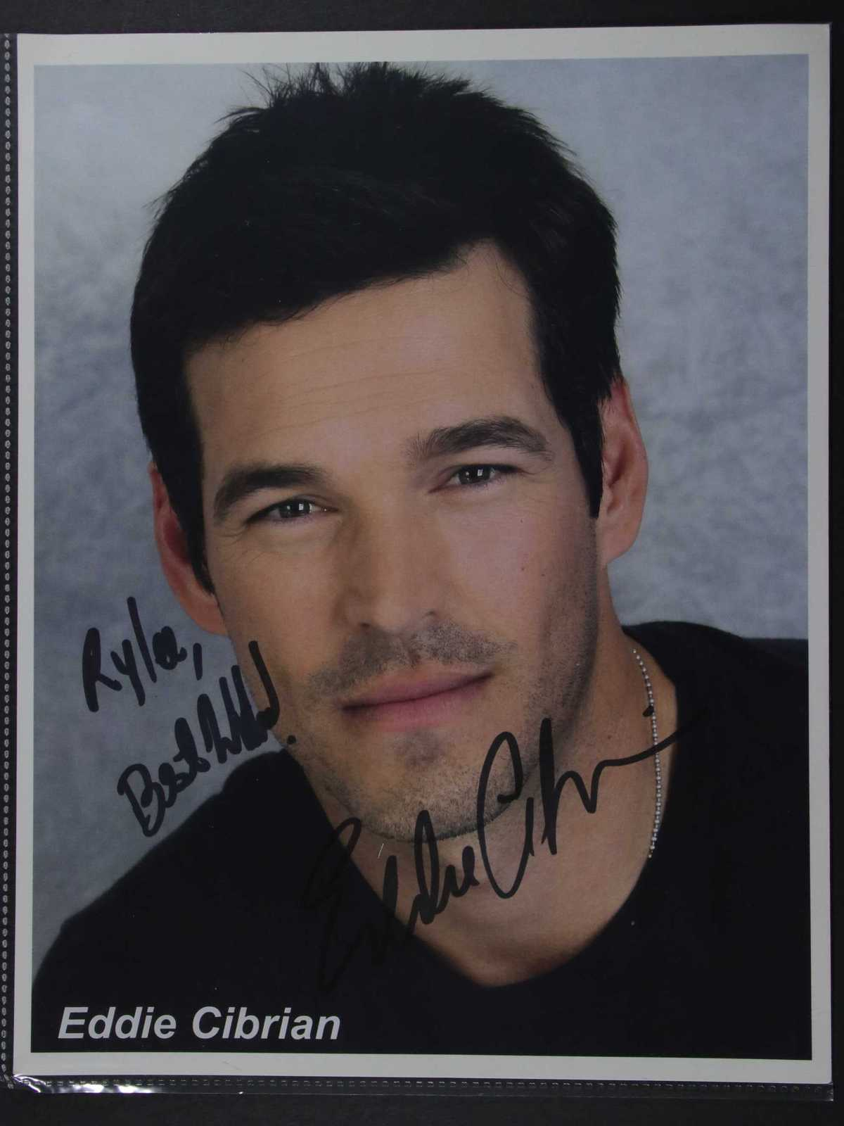 Primary image for Eddie Cibrian Signed Autographed Color 8x10 Photo