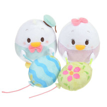 Disney Store Ufufy Donald & Daisy Curtain Tassel Plush doll String Doorw... - $52.47