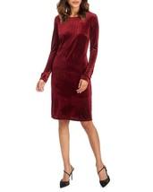 NWT TAHARI RED DOTS VELVET CAREER SHEATH DRESS SIZE XL $138 - $36.09