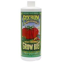 FoxFarm FX14006 1-Quart FoxFarm Grow Big Liquid Concentrate 6-4-4 - $46.33