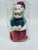 "1995 Precious Moments Doll Collection Christmas Doll Nikki Stocking 13"" - $17.33"