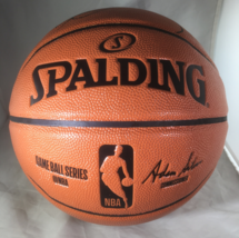 KOBE BRYANT / NBA HALL OF FAME / AUTOGRAPHED FULL SIZE NBA BASKETBALL / COA image 3