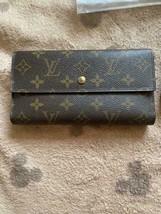 Louis Vuitton monogram trifold wallet - japan - $331.65