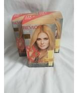 Revlon Salon Color 8G Medium Golden Blonde Haircolor Lot X 3 - $57.42
