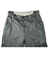 Ripzone 5000mm Core Ski Snowboard Ski Pants Black Striped Size Medium - $24.14
