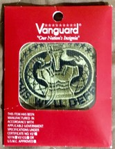 (1) Vanguard Army Embroidered Badge On Ocp Sew On: Drill Serg EAN T - $5.50