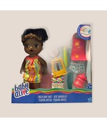NIB Baby Alive Finger Paint Baby Doll Set AA African American Art Kids G... - $43.35