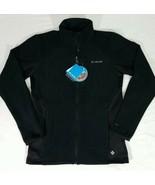 Columbia Omni Heat 360 II Full Zip Black Fleece Jacket Mens Size M New w... - $59.28
