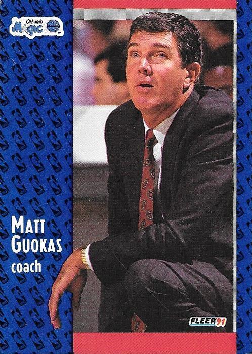 Matt Guokas ~ 1991-92 Fleer #145 ~ Magic