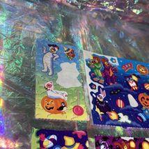Vintage Lisa Frank Partial Rare Halloween Sticker Sheets Mummy Bears Vampire Etc image 4