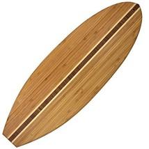 Totally Bamboo 20-7635 Surfboard Cutting Board, 23 x 7.5-inch - £21.21 GBP