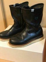 FIL limited 1st model visvim WABANAKI BOOTS-FOLK US8 BLACK Pecos boots image 3