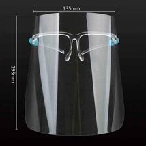 Face Safety Shield with Glasses Clear Anti Fog Bulk Protective Covers (6 Pack) image 5