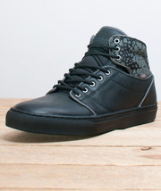 NEW VANS OTW COLLECTION ALOMAR CROC CAMO BLACK SHOES MENS SZ 7 AUTHENTIC... - $51.33