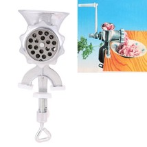 Manual Meat Grinder Mincer Table Hand Crank Hand Tool For Kitchen Sausage Maker - $20.48