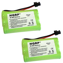 2x HQRP Phone Battery for Uniden TRU9460 TRU9465 TRU9466 TRU9485 TRU9485-2 / -3 - $13.95