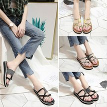 43 Size 35 Rope Beach Large LCIZRONG Fashion Mixed Women Sandals Braided Summer xp7Tg