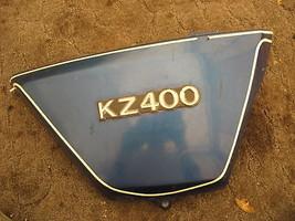 RIGHT HAND FRAME SIDE COVER 1979 KAWASAKI KZ400 KZ 400 - $35.76