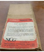 Rego GX-55  Cutting Torch Tip National  Cylinder Gas Co. Original Packaging - $9.99