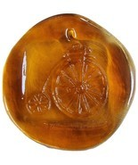 Colette Glass Designs Old-Fashioned Bicycle Bike Window Suncatcher Lead ... - $24.99