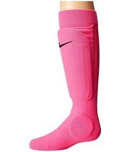 NIKE Shin Sleeve Socks, Pink Blast/Black, Large/X-Large - $16.33