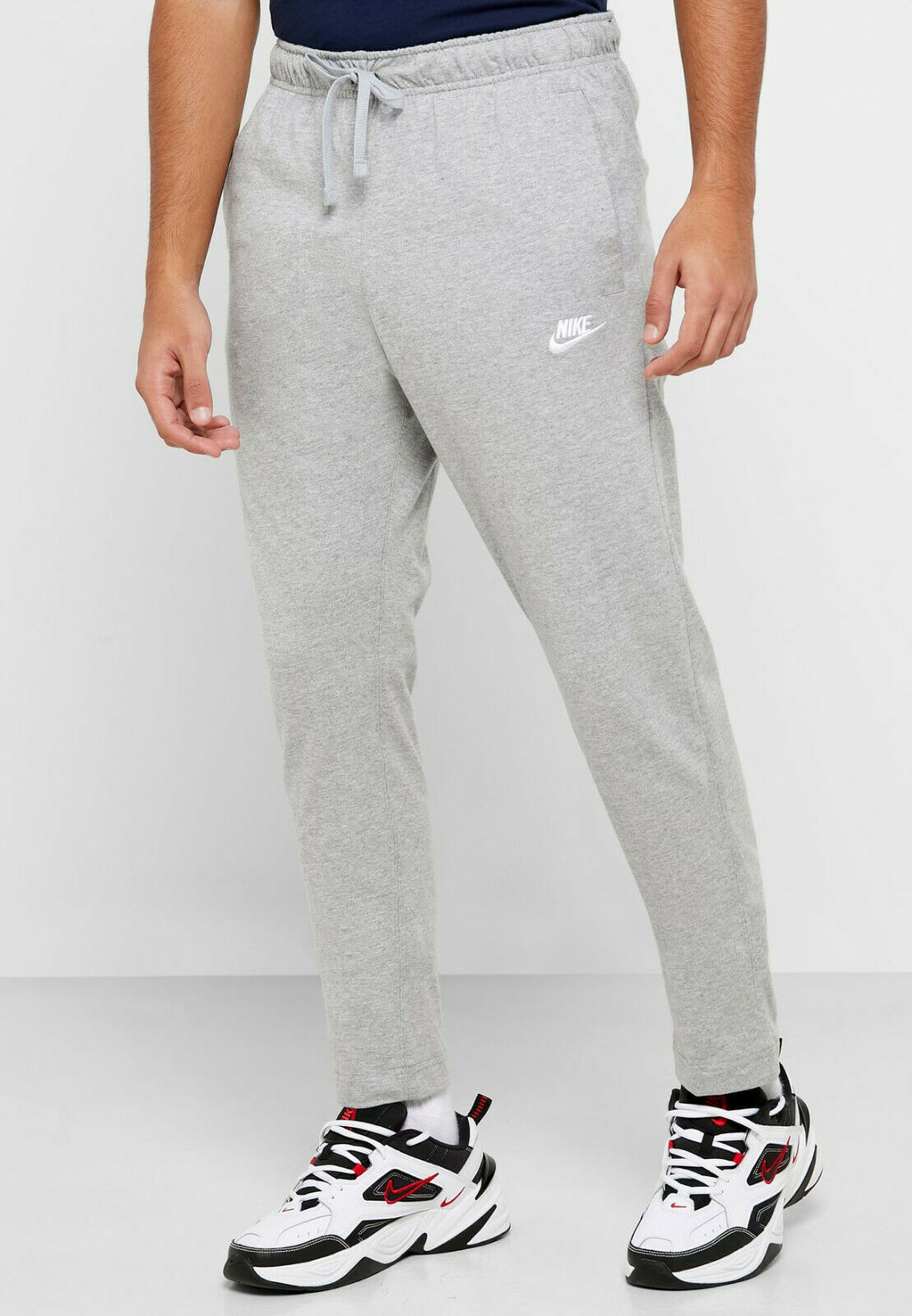 Primary image for Nike Mens NSW Club Sweapants BV2766-063 Grey/White Jogging Pants Size Large
