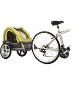 Bike Trailer Stroller Bycicle Cycling Jogger Ca... - £104.84 GBP