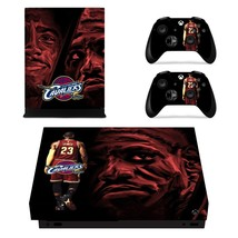 Cleveland Cavaliers xbox one X skin decal for console and 2 controllers - $15.00