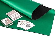 GAMELAND Anti Slip and Noise Reduction Rubber Foam Mahjong Mat Poker Mat... - $37.42