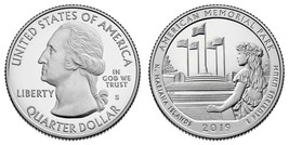 2019 ATB American Memorial Park SILVER Proof and Clad Proof Gem Quarters... - $12.95