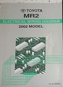 Primary image for 2002 Toyota MR2 MR 2 M R 2 Electrical Wiring Diagram EWD Service Shop Manual EWD