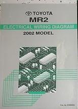 2002 Toyota MR2 MR 2 M R 2 Electrical Wiring Diagram EWD Service Shop Manual EWD - $42.69