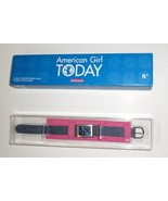 American Girl Today Wrist Watch blue denim band retro doll H8 - $24.77