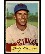1954 Bowman #108 Bobby Adams Reds - $4.73