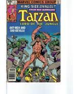 Vintage Comic Book -- Edgar Rice Burroughs' TARZAN Annual, No.3  (June 1... - $4.50