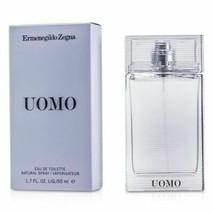 Ermenegildo Zegna UOMO Eau De Toilette EDT Natural Spray for Men 1.7oz 50ml NIB - $46.50