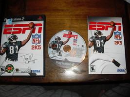ESPN NFL 2K5 (Playstation 2, 2004) - $18.76