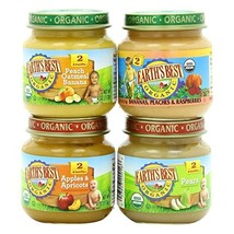 EARTHS BEST Organic Fruit Variety Pack, 4 OZ - $70.67