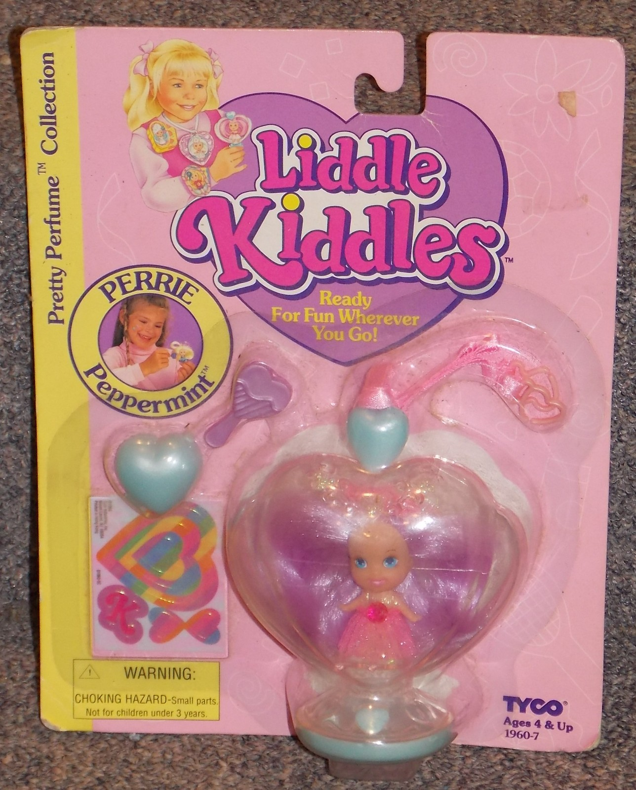 Primary image for 1994 Tyco Liddle Kiddles Perrie Peppermint Perfume Collection New In Package