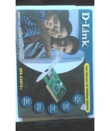 NEW DLINK DFE-530TX+ PCI 10 100 Ethernet Network Interface Card NIC Low ... - $10.42