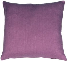 Pillow Decor - Tuscany Linen Purple 18x18 Throw Pillow  - SKU: NB1-0005-... - $29.95