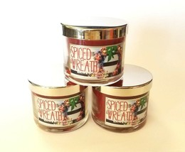 24-Pack of Bath and Body Works Spiced Wreath Scented Candles  - $71.28