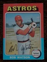 Bob Watson, Astros,  1975  #227 Topps Baseball Card, VG COND - $0.99