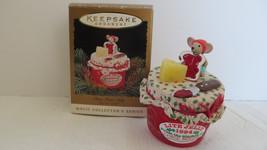 Christmas Hallmark Keepsake 1994 Chris Mouse Jelly Clip-On Light Ornament - $4.99