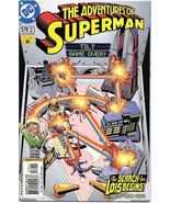 The Adventures of Superman Comic Book #579 DC Comics 2000 NEAR MINT UNREAD - $3.25