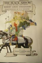 The Black Arrow by Robert Louis Stevenson 1927  Edition image 5