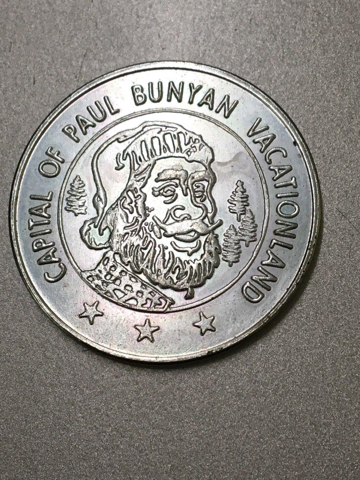 Brainerd MN 1971 centennial token capital of Paul Bunyan Vacationland
